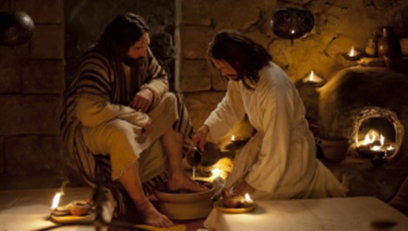 Jesus Washing Peter's Feet : Ministry to Others