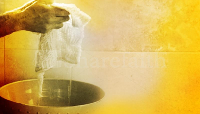 Preparing for Ministry : Water for a Footwashing Service