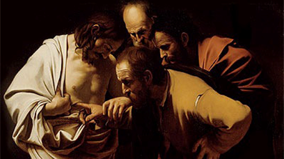 Jesus and Doubting Thomas : Resurrection Appearances