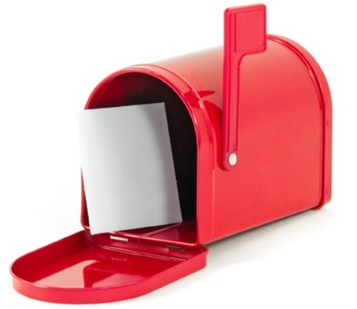 Red Mailbox: Sign Up for Our Monthly Newsletter