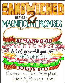 Promises of God : Love and Power : Sandwiched!