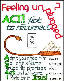 Reconnect to Jesus : Feeling Unplugged? Recognize/Replace
